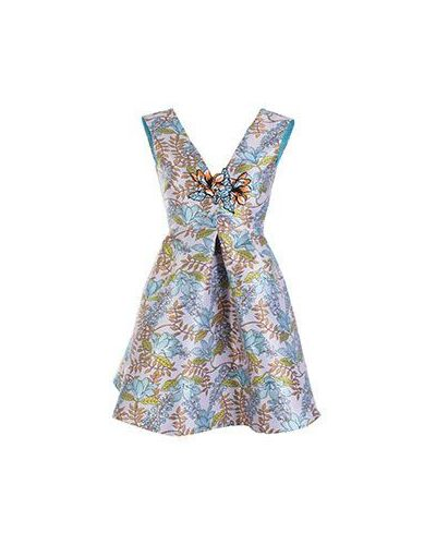 Вечернее платье летнее розовое Pinko
