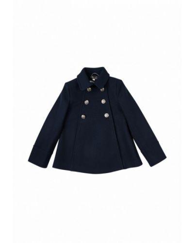 Пальто синее Sasha