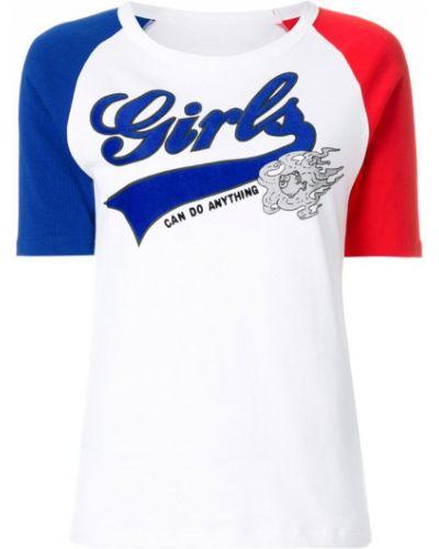 Белая футболка хлопковая Zadig & Voltaire