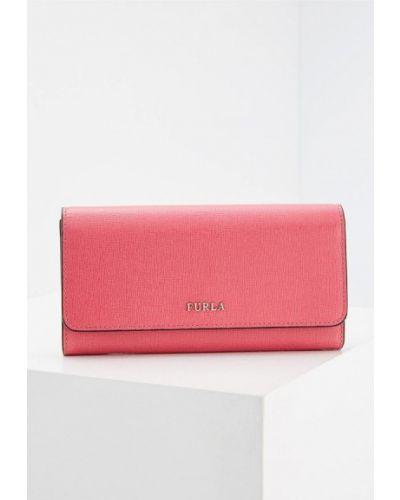 Розовый кошелек Furla