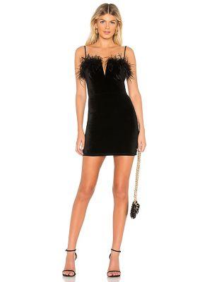 Czarna sukienka mini Superdown