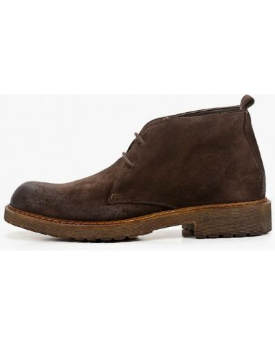 Коричневые ботинки F.lli Rennella