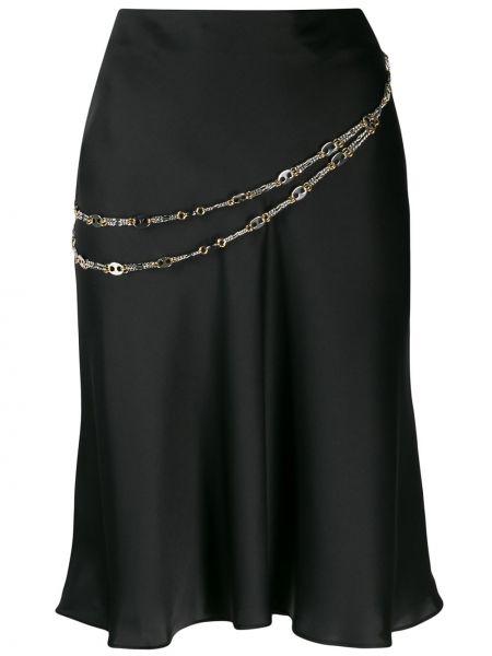 Spódnica z draperią tutu Paco Rabanne