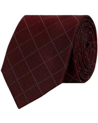 Krawat z jedwabiu Ck Calvin Klein