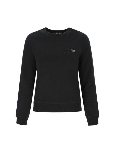 Czarna bluza dresowa A.p.c.