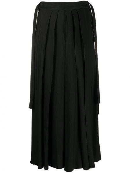 Черные брюки с карманами свободного кроя Mcq Alexander Mcqueen