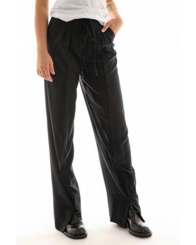 Czarne spodnie Ann Demeulemeester