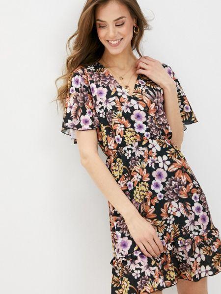 Платье с запахом весеннее Perfect J