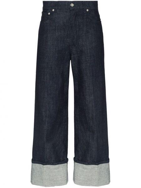 Прямые синие джинсы с карманами Jw Anderson