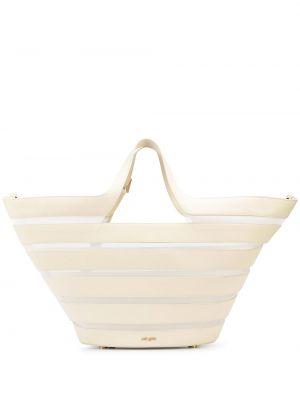 Biała torebka z nylonu Cult Gaia