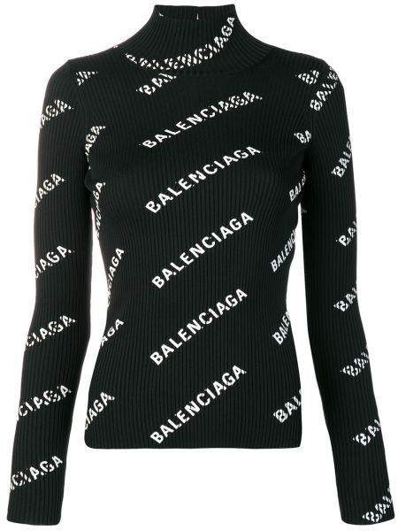 Sweter z otwartym tyłem otwarty Balenciaga