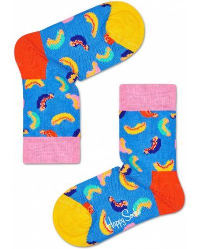 Колготы розовый Happy Socks