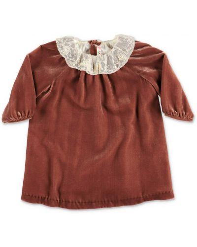 Czerwona sukienka Bonpoint