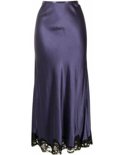 Niebieska spódnica bawełniana Rixo