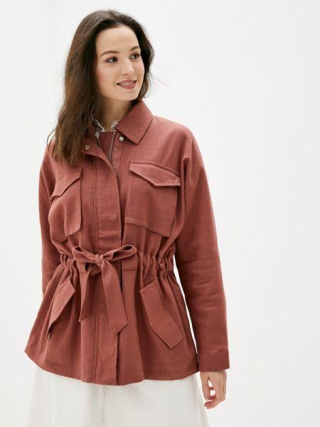 Коричневая облегченная куртка Mbym