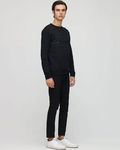 Bawełna bawełna czarny bluza Balmain