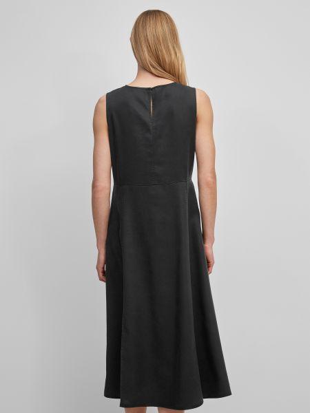 Черное платье с круглым вырезом Marc O'polo