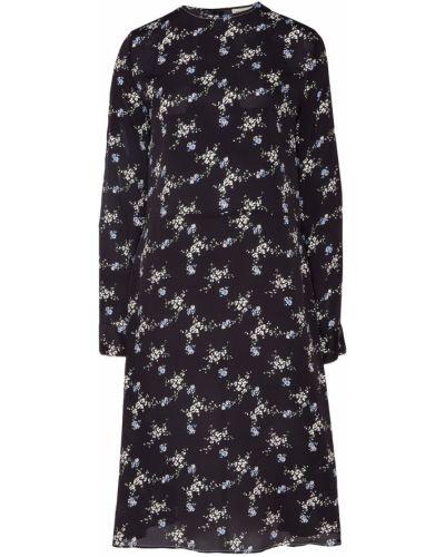 Платье миди на пуговицах с цветочным принтом By Malene Birger