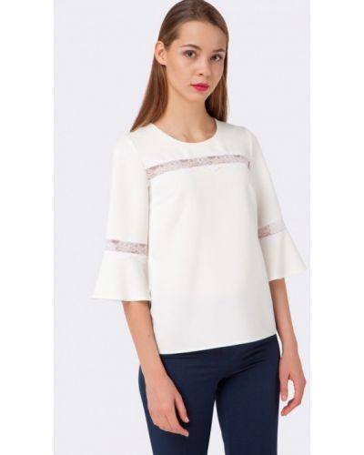 Белая блузка осенняя Cat Orange