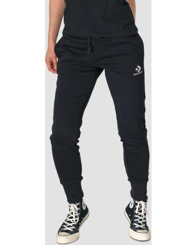 Облегающие повседневные флисовые спортивные брюки Converse