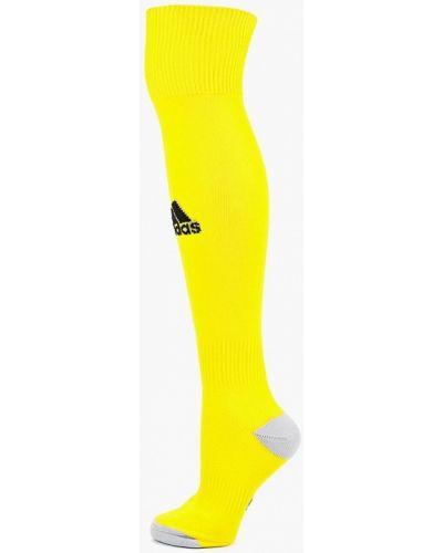 Желтые гольфы Adidas