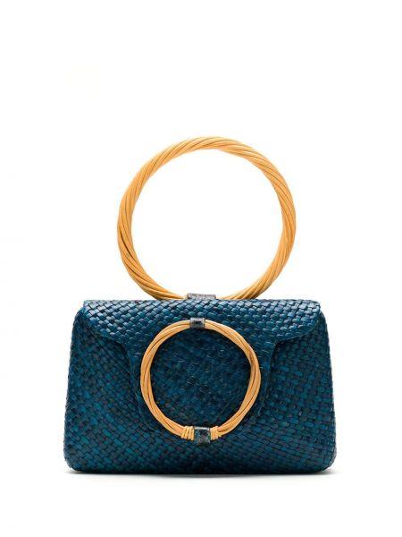 Соломенная сумка Serpui