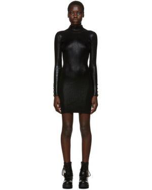 Джинсовое платье макси на пуговицах Versace Jeans Couture