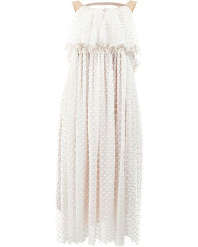 Приталенное платье с вышивкой Litkovskaya