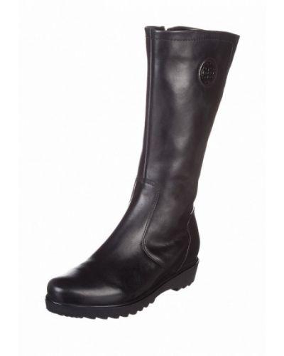 Кожаные сапоги - черные Ara
