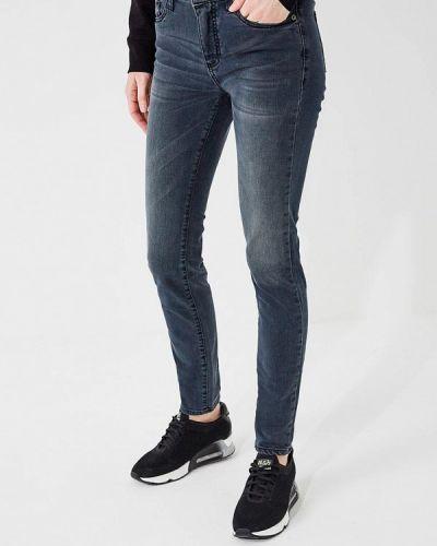 Серые джинсы-скинни Armani Exchange