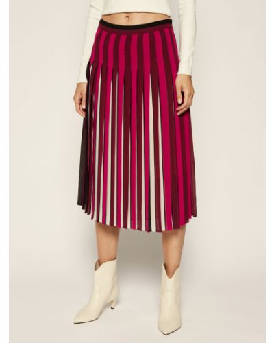 Spódnica plisowana - fioletowa Michael Michael Kors