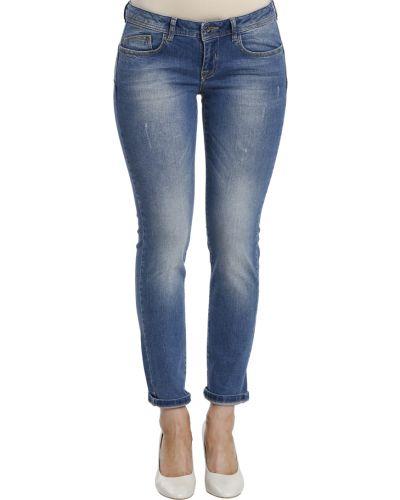 Хлопковые джинсы - голубые Iceberg