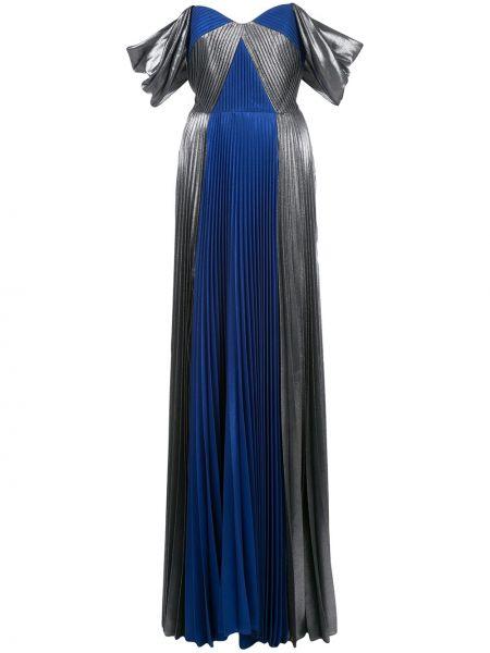 Платье плиссированное приталенное Marchesa Notte