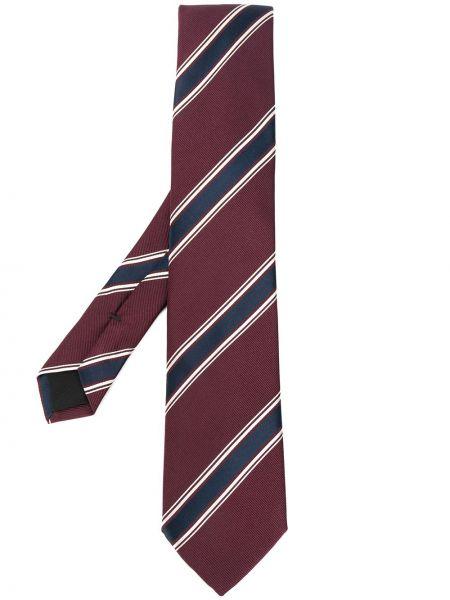 Шелковый темно-синий галстук Boss Hugo Boss