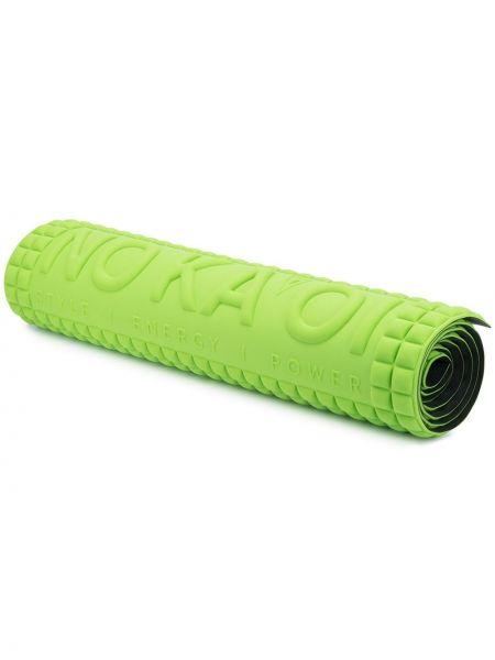 Нейлоновый зеленый спортивный костюм для йоги квадратный No Ka 'oi