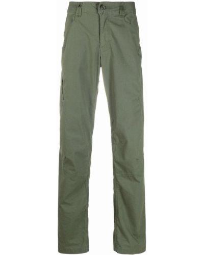Zielone spodnie materiałowe z paskiem Patagonia