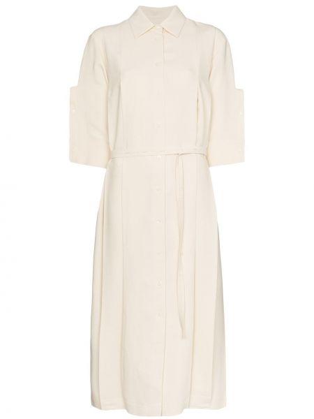 Платье миди на пуговицах платье-рубашка Jil Sander