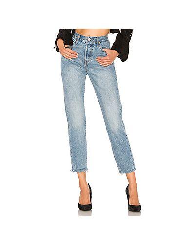 Прямые джинсы с карманами на пуговицах Levi's®