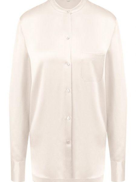 Блузка шелковая Vince.
