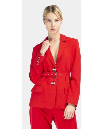 Красный пиджак осенний Grass