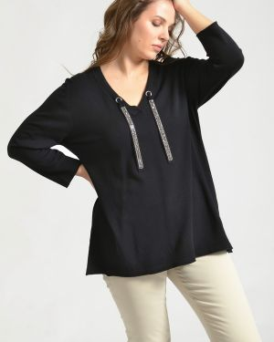 Пуловер - черный Via Appia