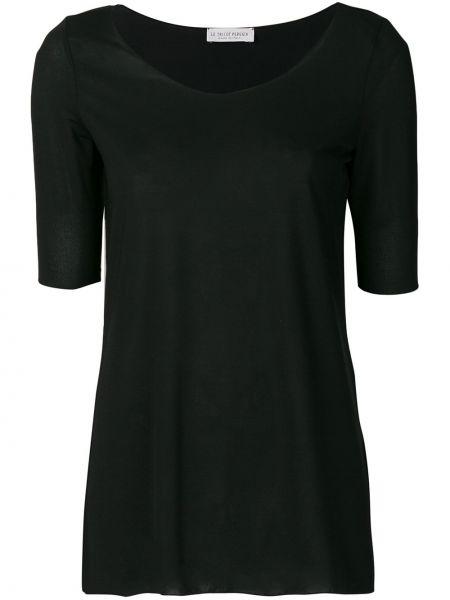 Базовая футболка - черная Le Tricot Perugia