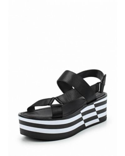 Черные босоножки на каблуке Aldo