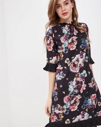 Платье индийский черное Yumi