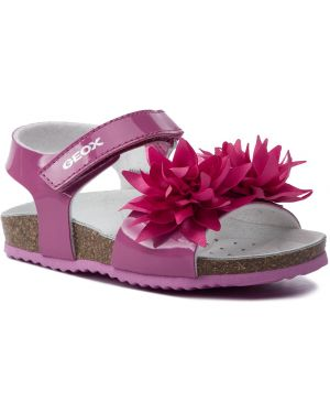 Sandały różowy fuksja Geox