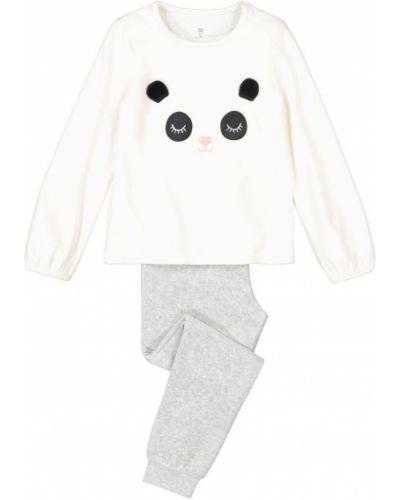 Пижамная домашняя велюровая пижама с поясом La Redoute
