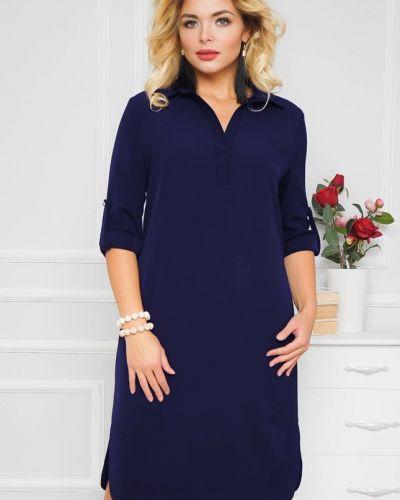Вечернее платье миди деловое Ellcora