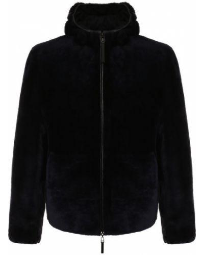 Куртка с капюшоном двусторонняя на молнии Emporio Armani