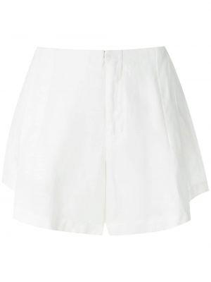 Белые шорты из вискозы Osklen