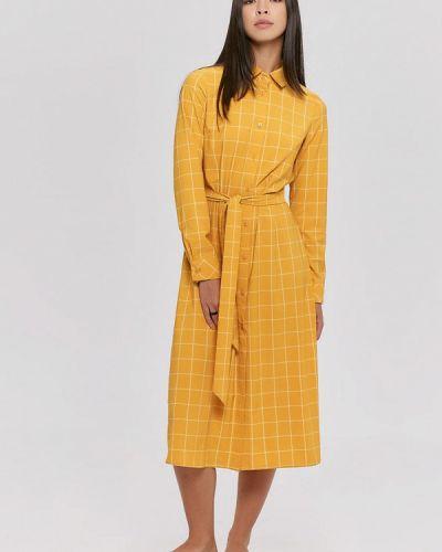 Платье рубашка - желтое Cardo